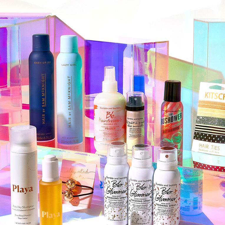 The hair <br>essentials